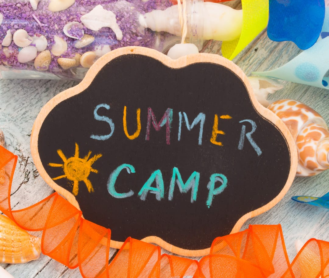 Summer Camp chalkboard